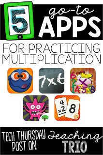 5 go to Apps for Practicing Multiplication!