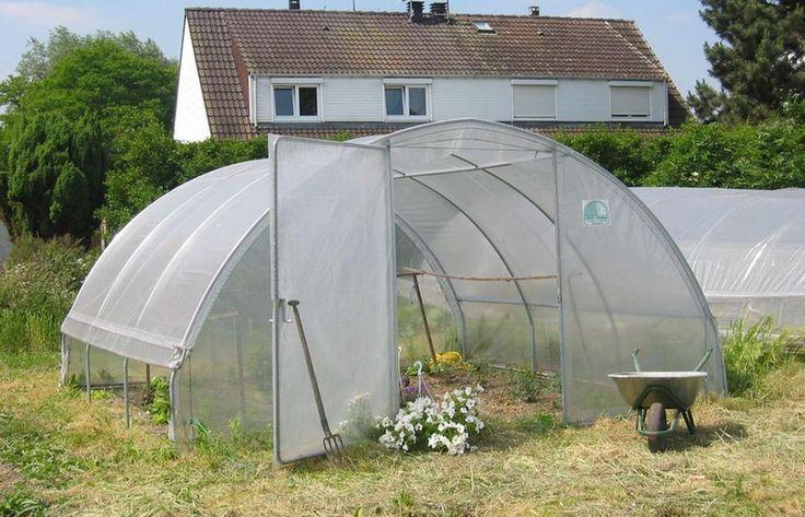 Serre de Jardin Gothique 20.25m2 450 x 450 cm et Kit Manivelles - Decouvrez toutes nos serres de jardin Gothique a petits prix - LeKingStore