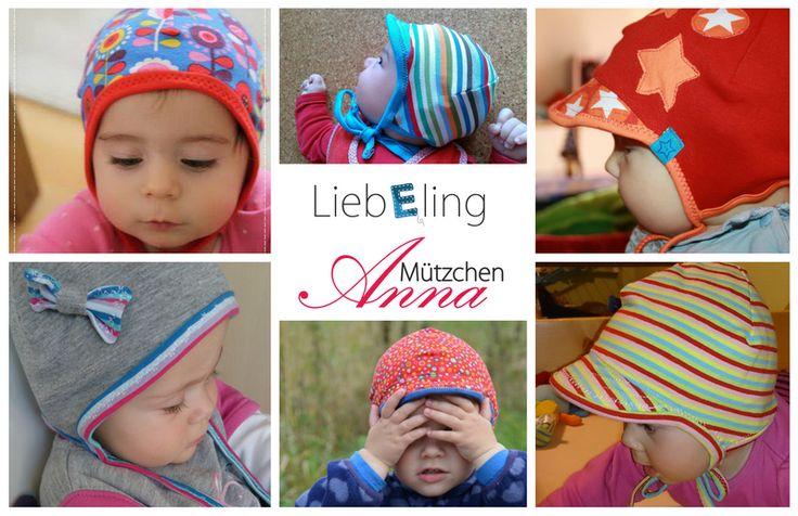 LiebEling: Mützchen Anna {Freebook}
