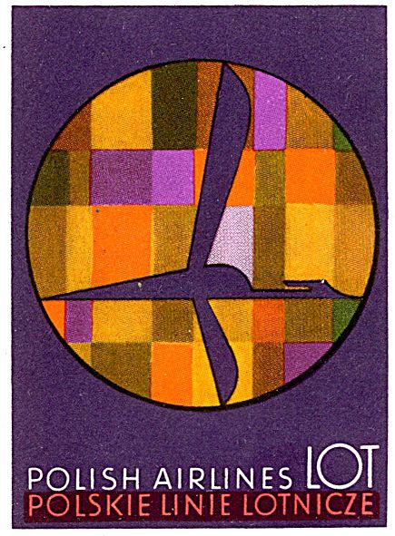 by Art of the Luggage Label, via Flickr; Color, type