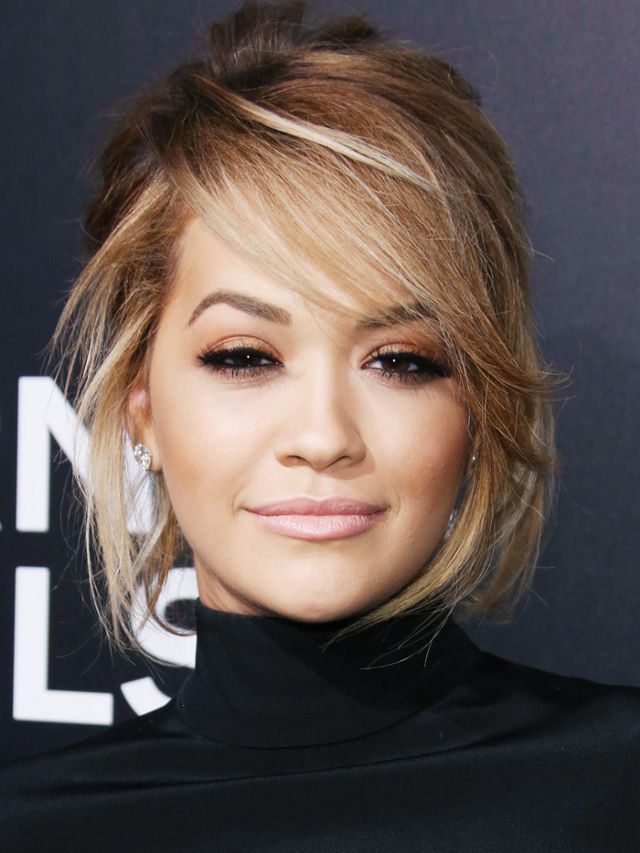 Side Fringe Rita Ora Hair Long Hair Styles Hair