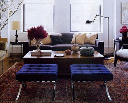 Modern traditional Mix Persian Carpet Knoll Barcelona