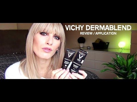 VICHY Dermablend Foundation Review/Application | MICHELA ismyname ❤️
