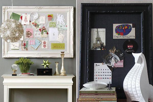 framed peg board...kitchen one day
