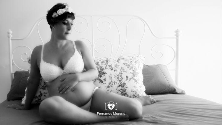fotografías de embarazada en la playa