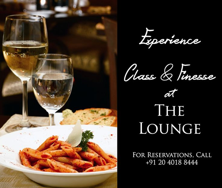 How about dinner tonight at The Lounge? #Pune