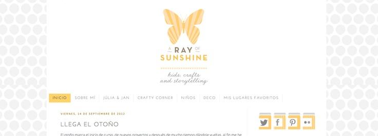Blogger template customization for http://arayofsunshinebcn.blogspot.com.es/