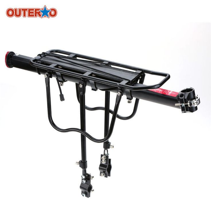 Bike Shelf Rack Luggage Carrier MTB Aluminum Bicycle Rear-Rack Install Component #BikeShelf