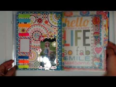 Cute project idea for composition books! #planner #crafts #diy