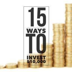 best way to invest 10000 dollars