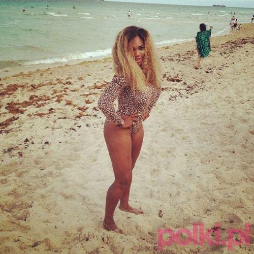 Serena Williams bna plaży #polkipl