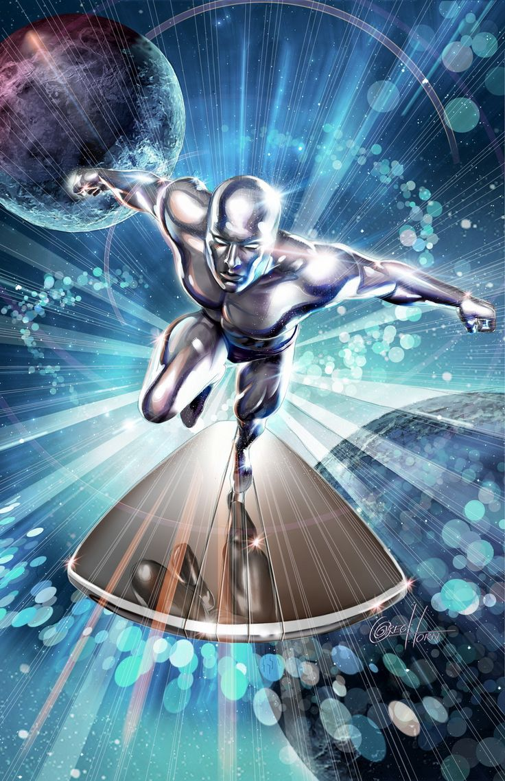 Silver Surfer by Greg