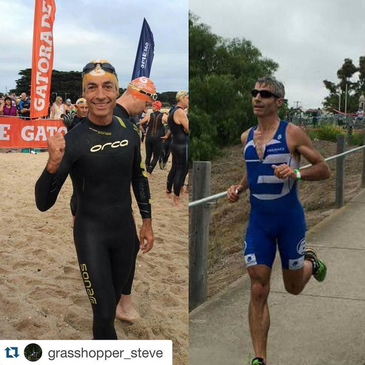 Repost @grasshopper_steve  Had a ball at #gatoradetriseries in Portarlington. Great event on the beautiful Bellarine Peninsula. V happy with my 12th AG result on heavy legs after yesterday's half trail marathon at Mt BawBaw.  Thanks to #endurancetraining Swiss Coach @renaterra for preparing me for both events and for the team at #theinjuryclinic for helping to keep me fit and injury free.  #swim #ride #run #tritraining #triathlontraining #triracing #openwaterswimming #trailrunning #traillove…