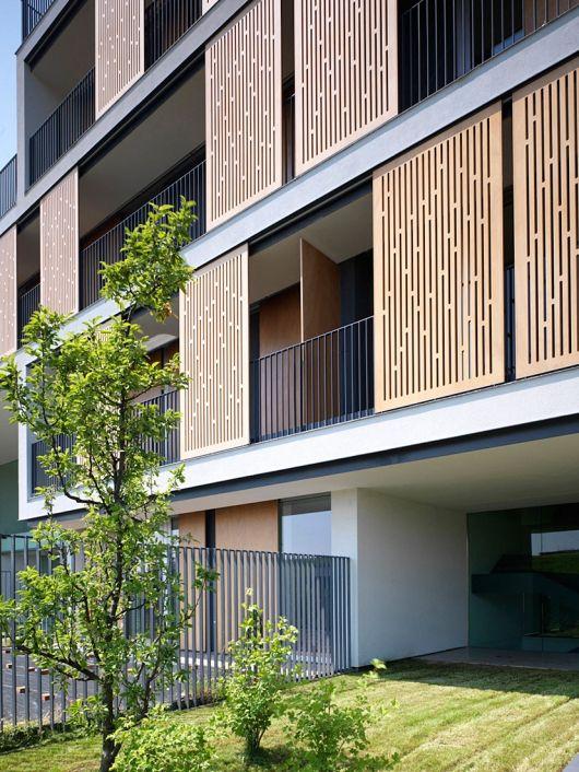 facade, panels