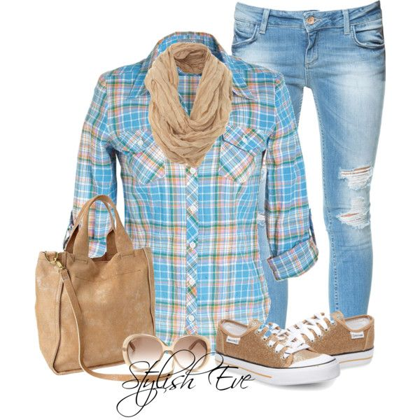 Noha Clothes Casual Outift for • teens • movies • girls • women •. summer • fall • spring • winter • outfit ideas • dates • school • parties Polyvore :) Catalina Christiano