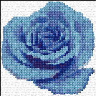 dmc threads dimensions 58 x 58 stitches 12 colors cross stitch ...