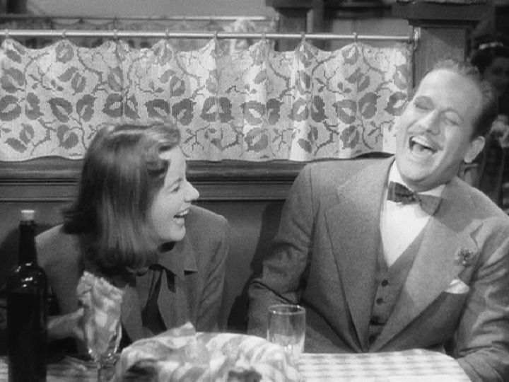 if you haven't seen NINOTCHKA, watch it as soon as you can! Maybe it's just the remnants of the hurricane talking but it is marvelous to see Greta Garbo in a comedy!