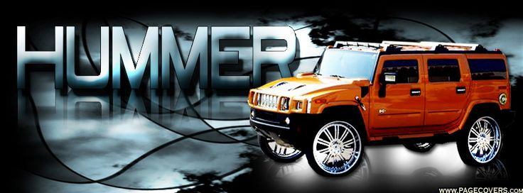 Hummer Facebook Cover - PageCovers.com