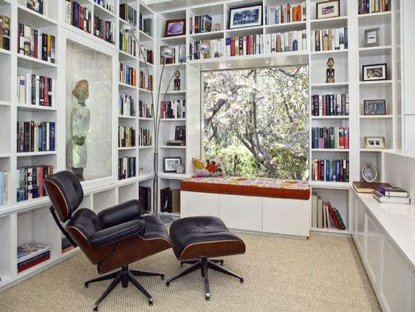 Modern Home Libraries And Bookshelf Home Library Design Home