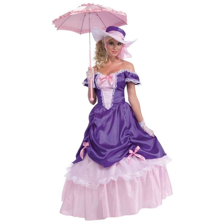 Blossom Southern Belle Costume Halloween Fancy Dress #ForumNovelties #Dress #Halloween