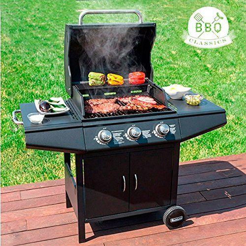 Barbacoa de Gas con Grill BBQ Classics 1857K