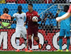 Cristiano Ronaldo gol Portugal x Gana (Foto: Reuters)26/06/2014.