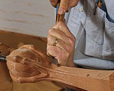 Preview - How to Carve a Ball-and-Claw Foot - Fine Woodworking Article