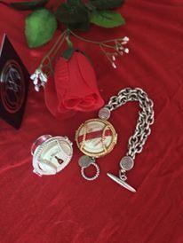 #champagne GHMumm capsules worn in our Wearing Memories jewellery. carol@wearingmemories.com