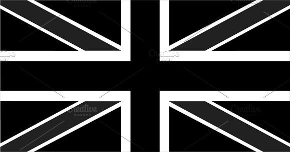 British Flag Black And White British Flag Black And White Black And White Background