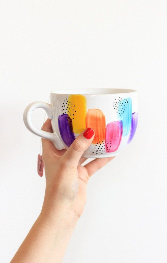these DIY mugs are completely dishwasher safe