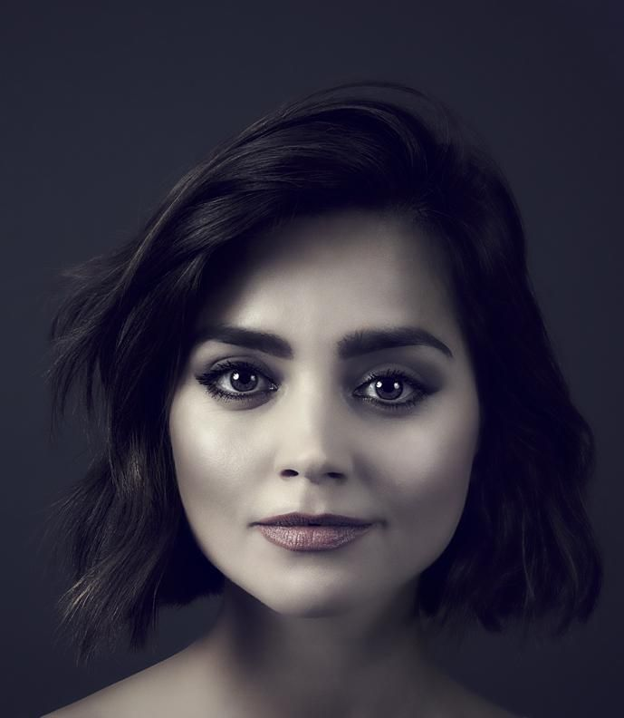 My recent portrait of the sunningly beautiful @Jenna_Coleman_ Hopefully we are shooting AGAIN very soon! #DoctorWho