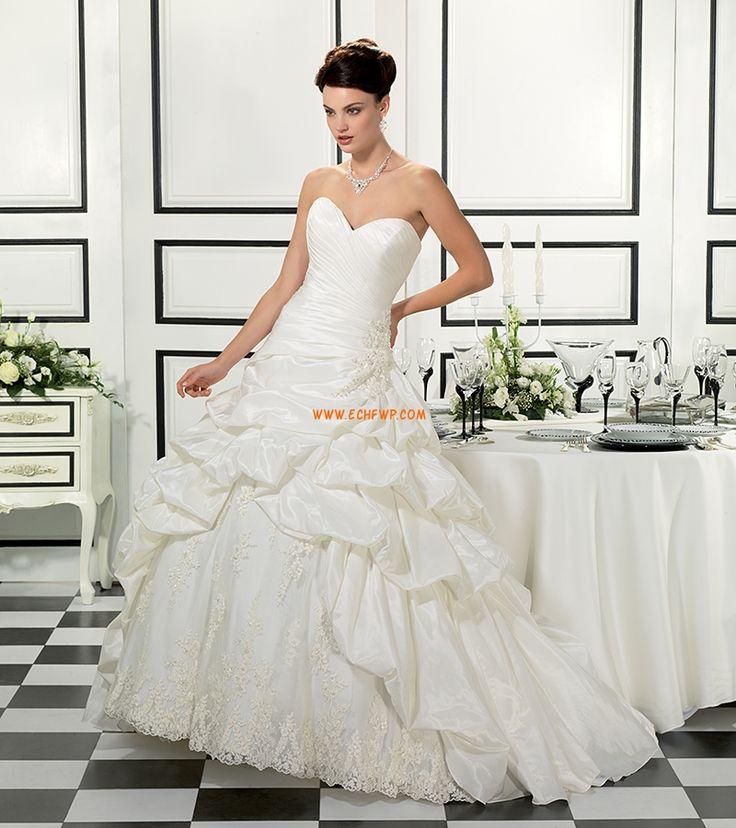 Sweetheart Sleeveless Pick Up Skirt Wedding Dresses 2014