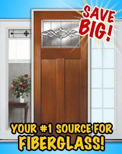 Door Clearance Center #1 Store for Discount Fiberglass Exterior Doors & 462 best Beautiful Discount Doors images on Pinterest | Doors ... pezcame.com