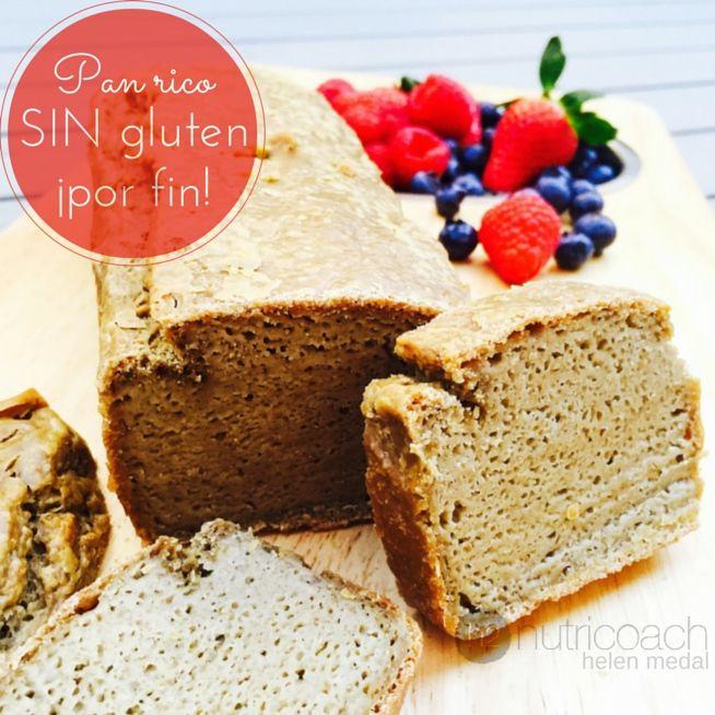 ¡Eureka! pan sin gluten que ¡Sabe rico! Después de muchísimas pruebas encontré una receta que sabe muy rica y es muy fácil de hacer.