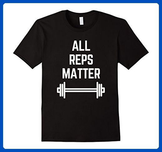 Mens All Reps Matter Humor Gym Workout T-Shirt Funny Tee Lift Day XL Black - Funny shirts (*Amazon Partner-Link)