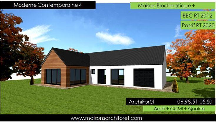 maison ossature bois naticube vue1 natilia MAISON INDIVIDUELLE - qu est ce qu une maison bioclimatique