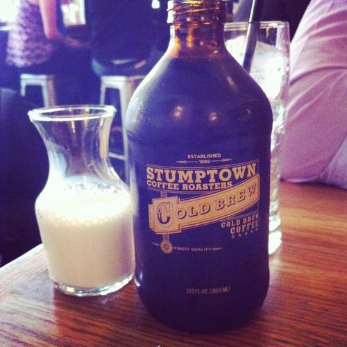 Stumptown Cold Brewed Bottled Coffee