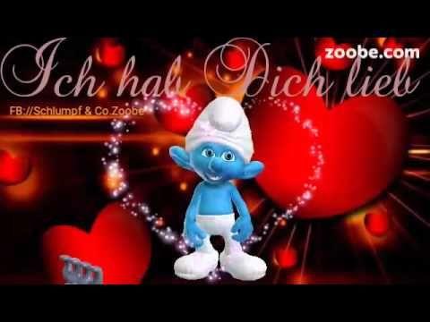 11 besten guten morgen bilder auf pinterest guten morgen mein schatz ich liebe dich und animation - Schlumpf weihnachten ...