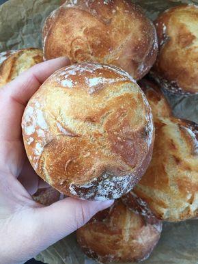 Buttermilch-Dinkel-Brötchen (♡die allerbesten Brötchen♡)