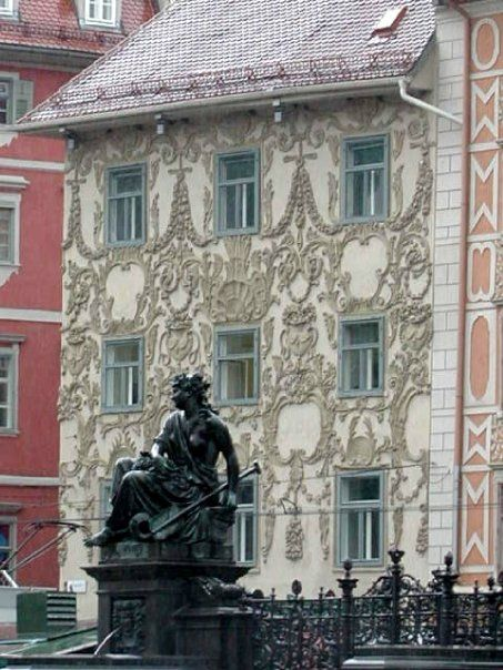 Decorated building in Graz, Austria   http://www.travelandtransitions.com/austria-travel/
