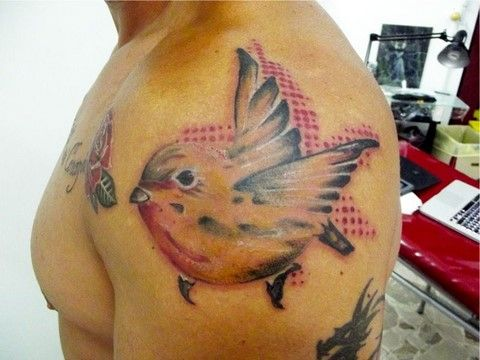 tatuaggio a mano libera fc art and tattoo