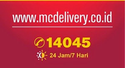 2014, Daftar Harga, Harga Menu, Harga Menu McDonald, Menu Delivery McDonald Indonesia, McD, McDonald, Mc Donalds, Menu Delivery,