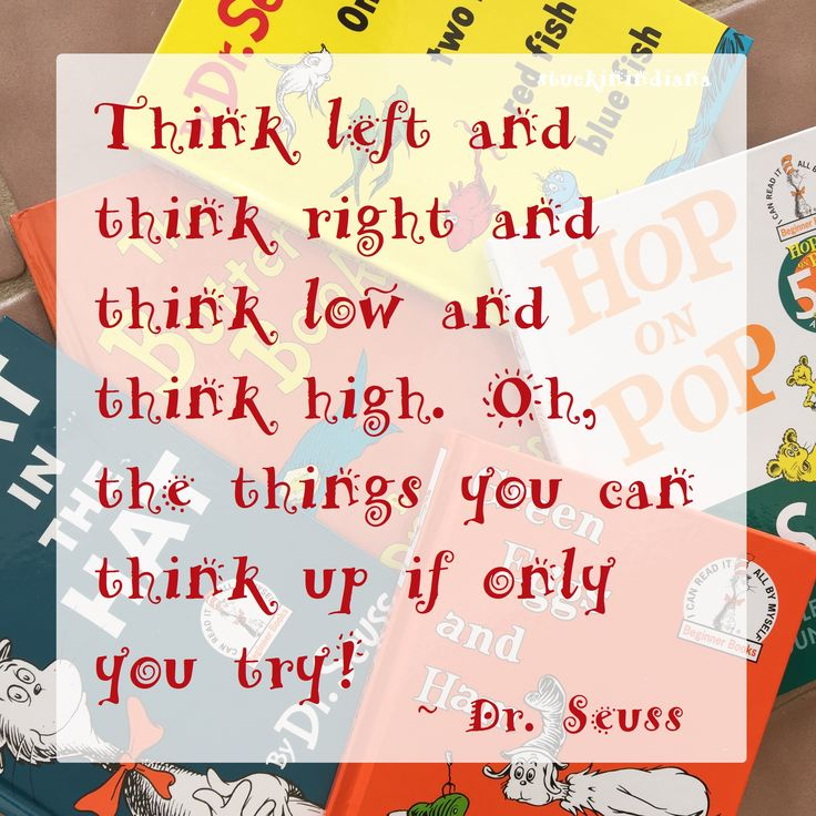 Dr Seuss Quotes Oh The Thinks You Can Think: 56 Best Dr. Seuss #quotes Images On Pinterest