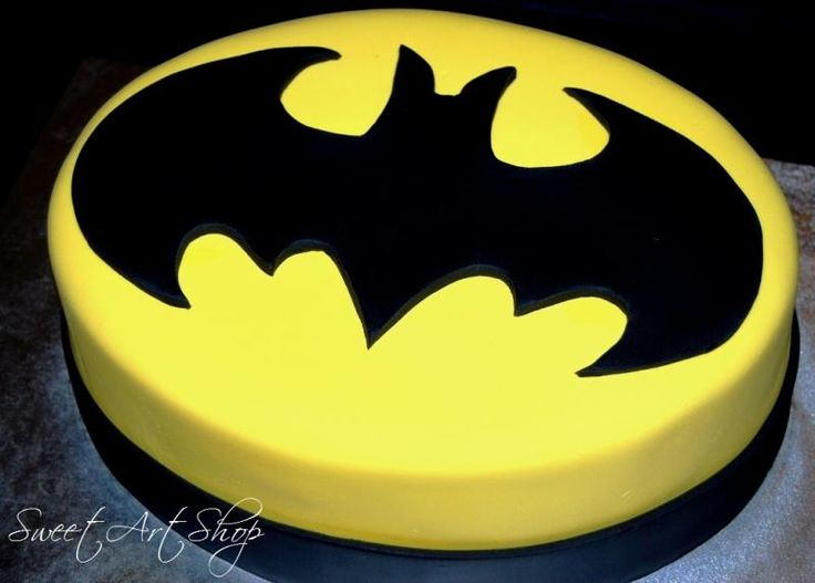 If Thomas was big on Batman, this would be his cake for the wedding. :)
