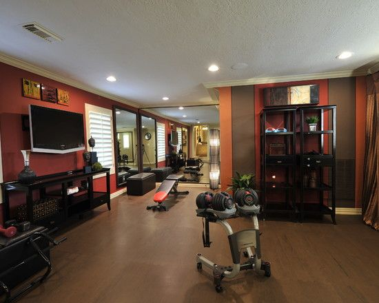25+ Best Ideas About Small Home Gyms On Pinterest