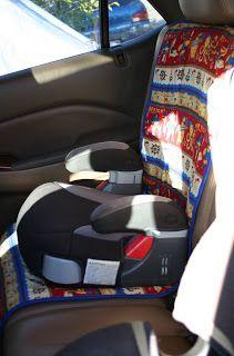 Lilliedale: Kiddie Car Seat Covers