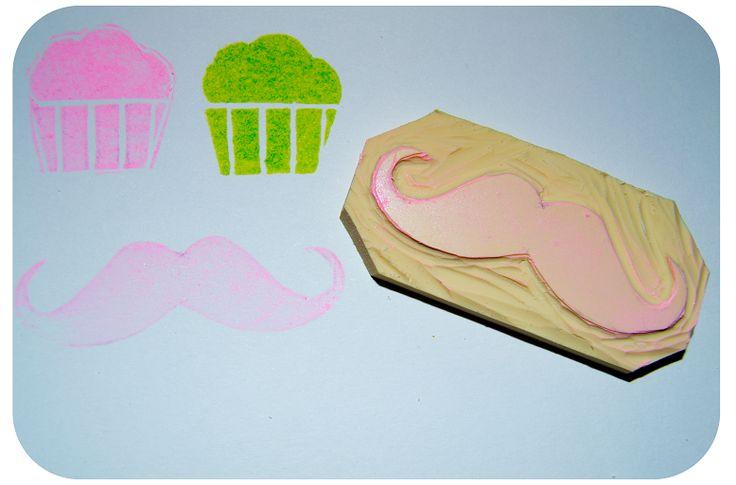 Diseño Personalizado para el Blog: Carvado de Sellos. Tutorial y Plantillas.