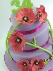 Een greep uit de reeds gemaakte taarten en cupcakes: -taartjesdroom