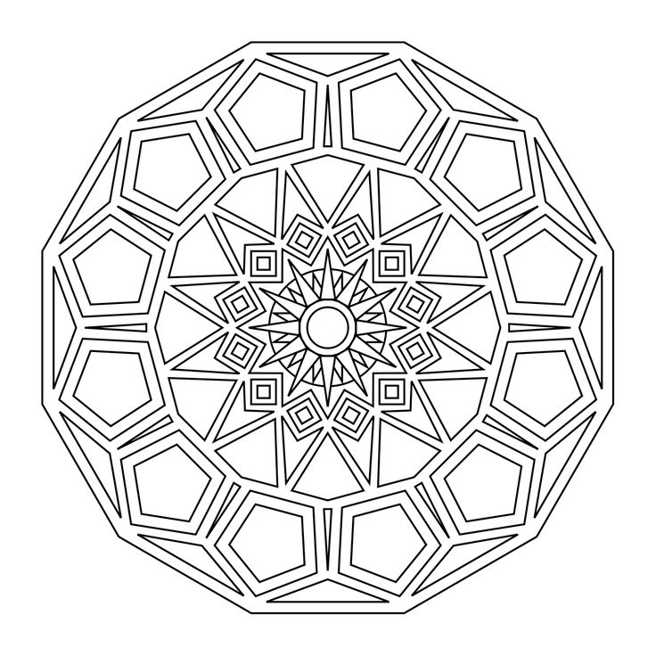 Religious mandala coloring pages on pinterest ~ 90 best images about coloring pages mandela on Pinterest ...