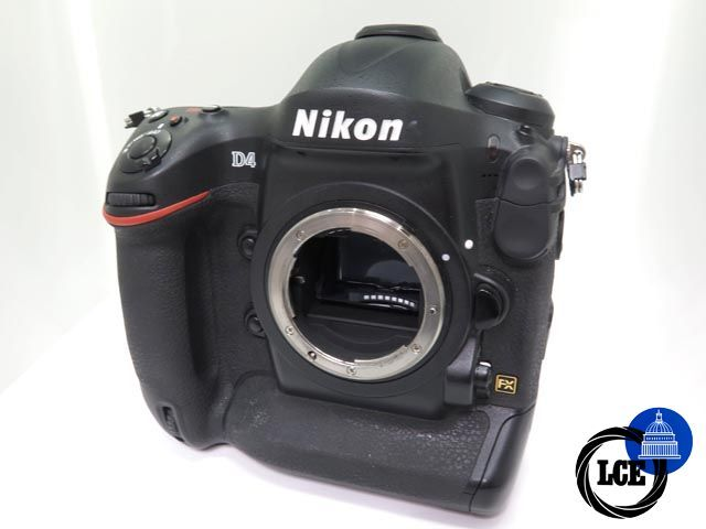 Nikon D4 Body (49,907 s/a)- Flash Sale, Reduced Price 'til 25th March only!